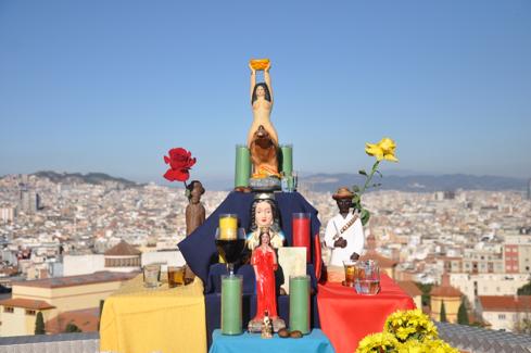 Photo prise par Roger Canals – Le culte à María Lionza